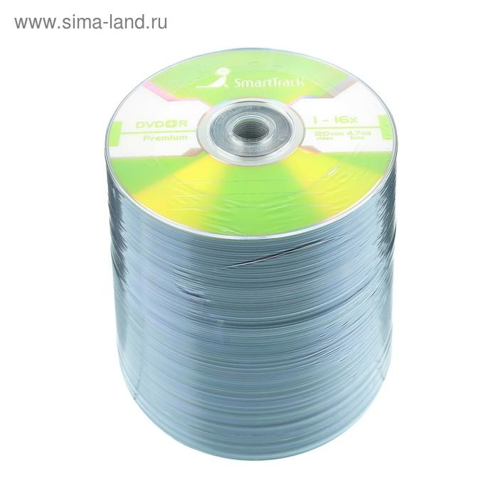 Диск DVD+R SmartTrack, 16x, 4,7 Гб, Спайка, 100 шт