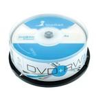 Диск DVD+RW SmartTrack, 4x, 4,7 Гб, Cake Box, 25 шт