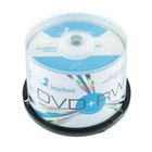 Диск DVD+RW SmartTrack, 4x, 4,7 Гб, Cake Box, 50 шт