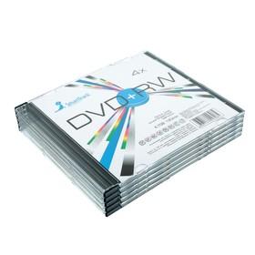 Диск DVD+RW SmartTrack, 4x, 4.7 Гб, Slim, 5 шт Ош
