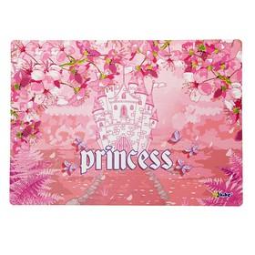 Накладка на стол дизайн 337*242 дев. КН 4-1 'Замок принцессы' 50869 Ош