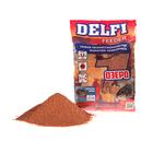 Прикормка Delfi Feeder-Озеро мотыль/червь, вес 0,8 кг.