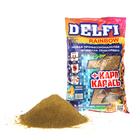 Прикормка Delfi Rainbow Карп-Карась банан/ваниль, зелёный, вес 0,8 кг.