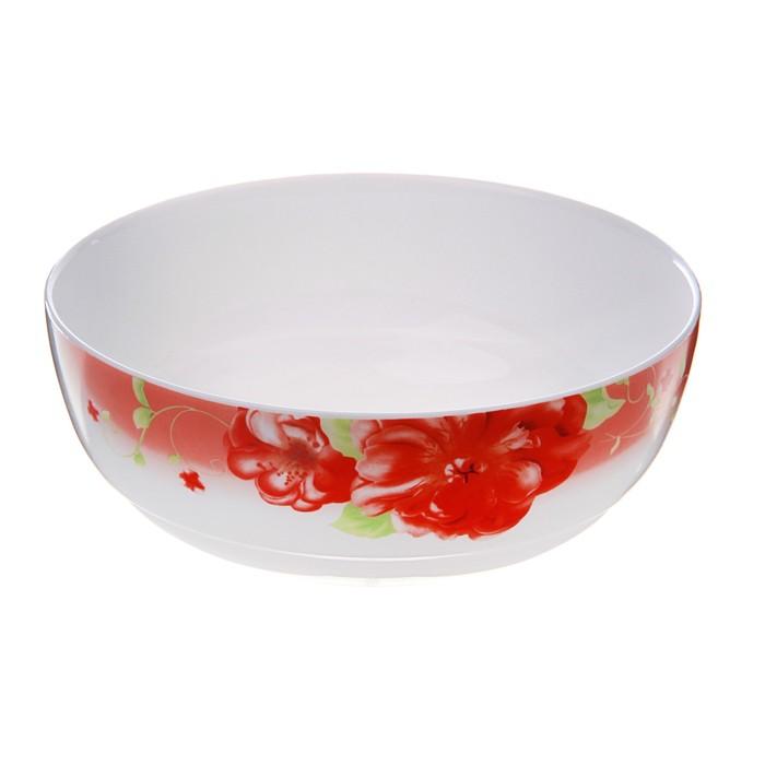 """Салатник 800 мл """"Волнующее предвкушение"""", 19 см, опаловое стекло"""