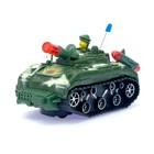 Танк «Атака», световые и звуковые эффекты, работает от батареек, МИКС - фото 105649321