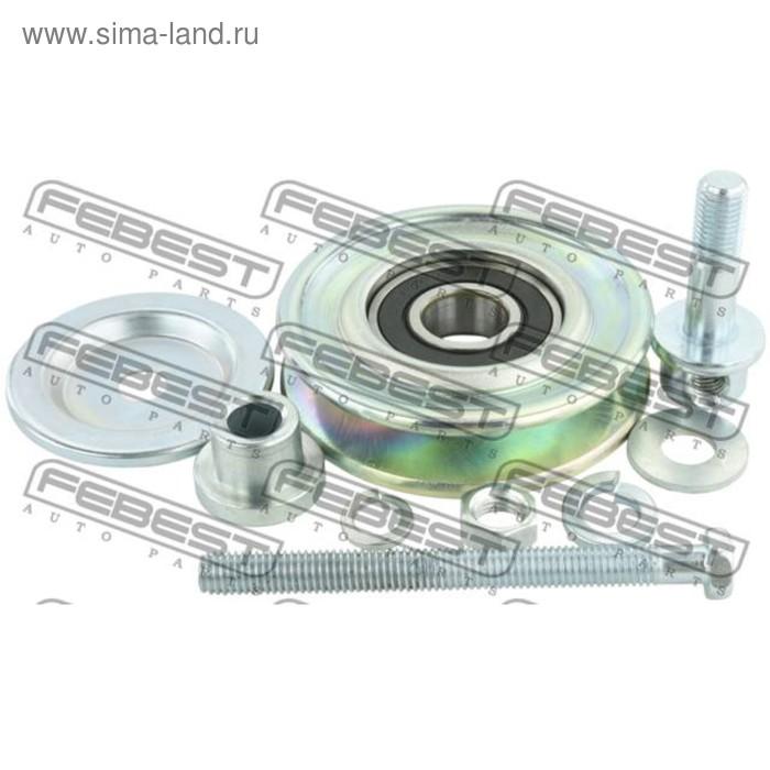 Ролик натяжной ремня кондиционера комплект febest 0487-k96w