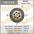 Диск сцепления  Masuma ISD134