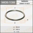 Кольцо глушителя металлическое  Masuma MOS138
