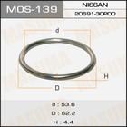 Кольцо глушителя металлическое  Masuma MOS139