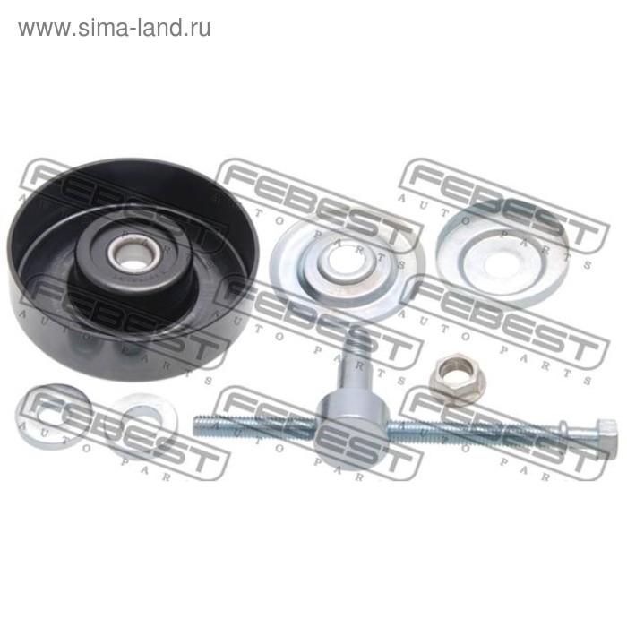 Ролик натяжной ремня кондиционера комплект febest 0287-v36