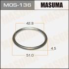 Кольцо глушителя  Masuma MOS136