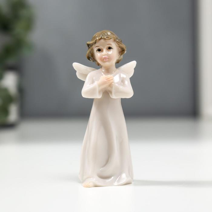 """Сувенир """"Ангел в белом"""" лакированный"""