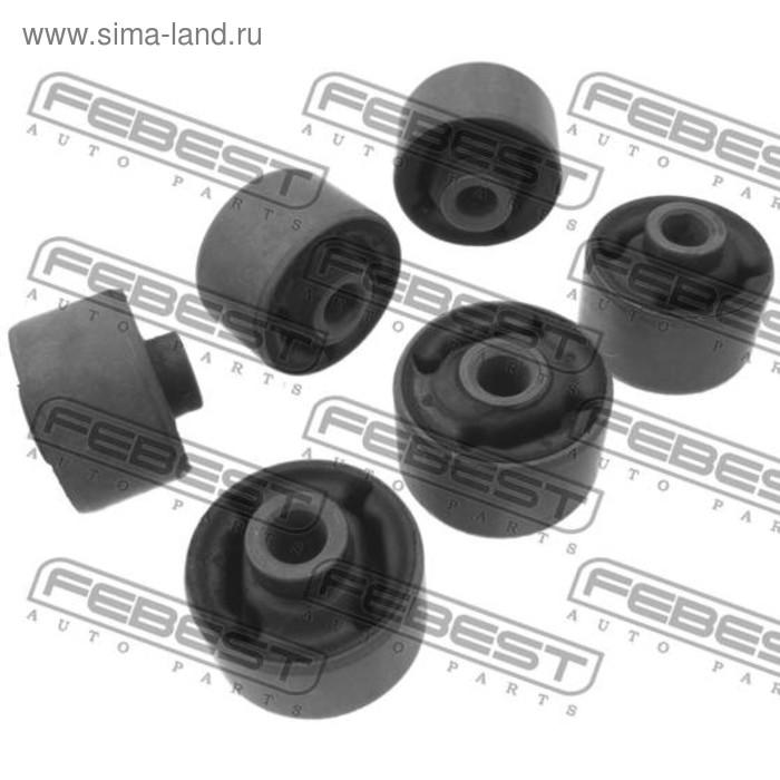Сайлентблок муфты кардана комплект 6 pcs febest tab-lcb