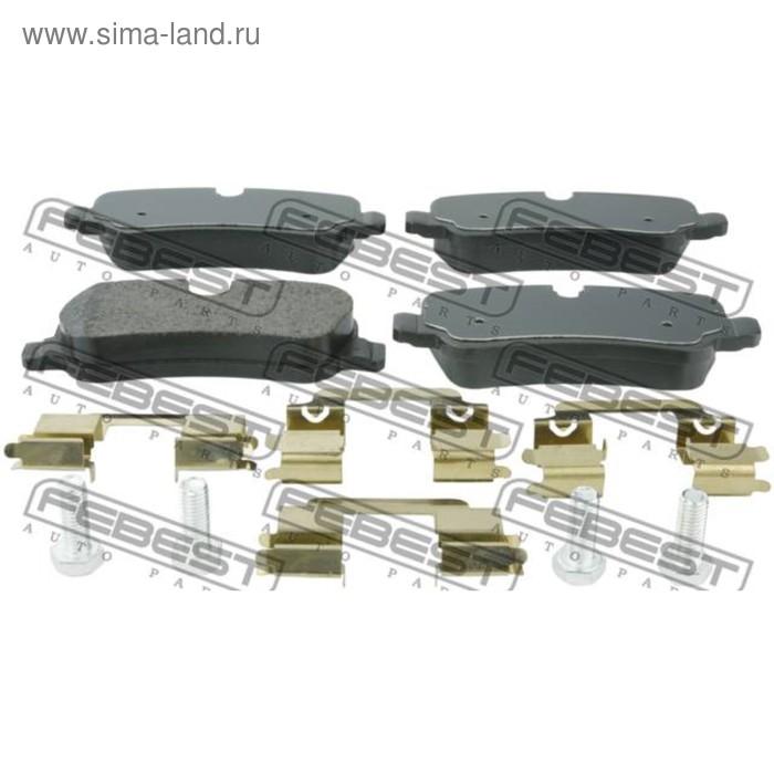 Колодки тормозные задние комплект febest 2901-diiir