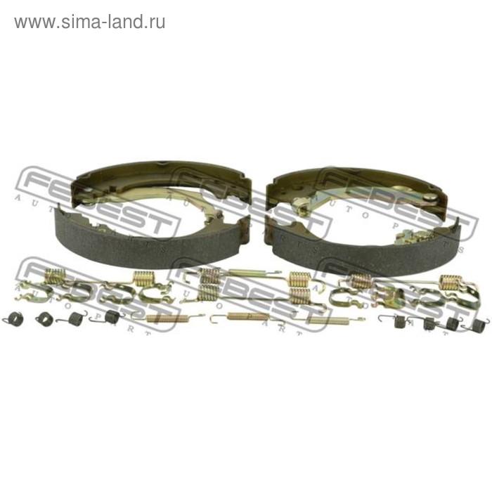 Колодки тормозные задние (барабанные) комплект febest 2902-divr