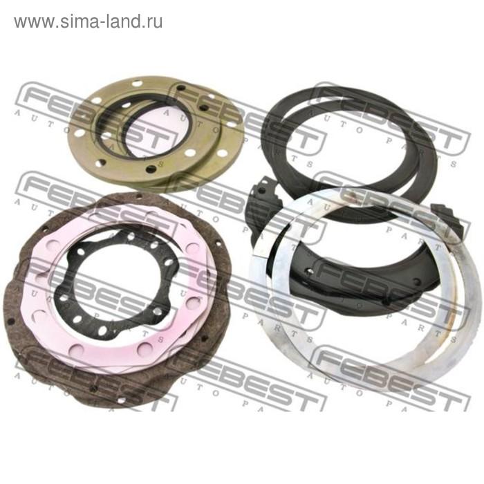 Ремкомплект сальников поворотного кулака febest tos-001