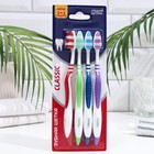 Зубная щётка Rendal Classic, средней жёсткости, 4 шт.