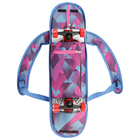Сумка для скейтборда с принтовым рисунком для девочки, цвет МИКС