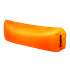 Шезлонг самонадувающийся, цвет оранжевый