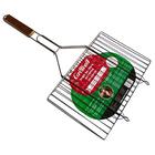 Решётка гриль для мяса Grillkoff 350х230 мм, стальная, плоская