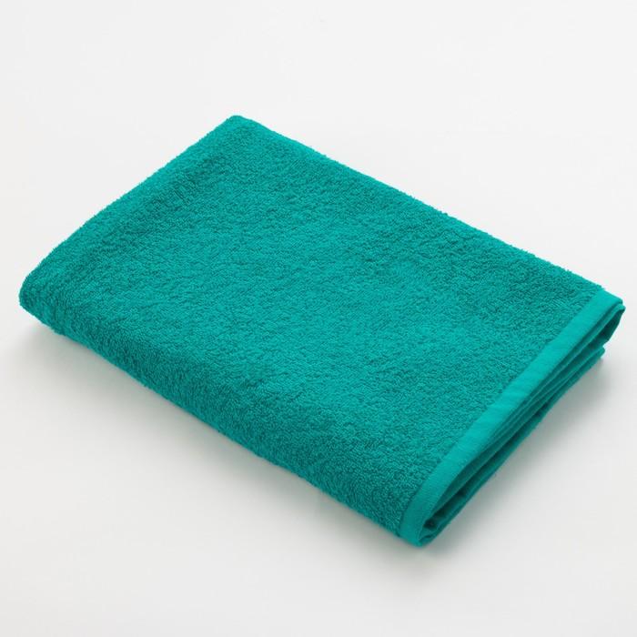Полотенце махровое Экономь и Я 70х130 см, цвет светло-зелёный