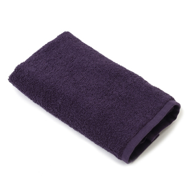 Полотенце махровое «Экономь и Я», размер 50х90 см, цвет фиолетовый