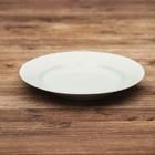 Тарелка d=17,5 см мелкая, белая