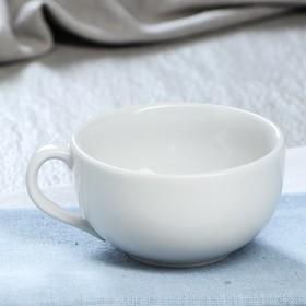 "Чашка ""Лотос"", белая, 255 мл"