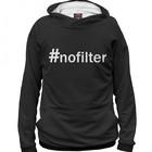 Худи для девочки #nofilter , рост 110 см NAD-681599