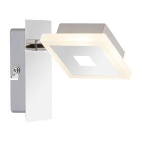 Спот GEROLF 1x5Вт LED хром 12,5x7,5x11см
