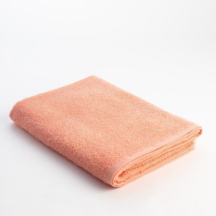 Полотенце махровое Экономь и Я 70х130 см, цв. персик, 340 г/м²