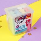 Мелки цветные для творчества My little pony, 6 цветов, в ведре