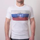 Футболка мужская OXO-0058-027 цвет белый , р-р 52-54 (XL)