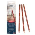Карандаши художественные цветные Derwent Drawing 6цв м/к 700477
