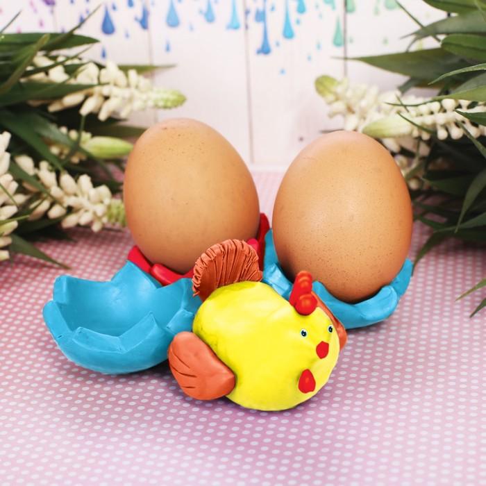 """Подставки для яиц из массы для лепки """"Курочка"""""""