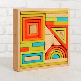 Конструктор деревянный в ящике