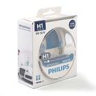Автолампа PHILIPS White Vision 3700К +60% (2шт+2шт W5W), H1, 12 В, 55 Вт, 12258 WHV SM
