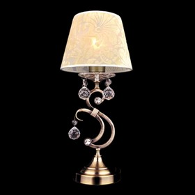 Настольная лампа Eileen 1x40Вт Е14 бронза 19x19x42см