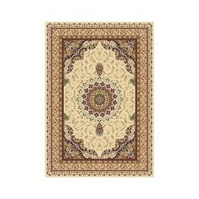Прямоугольный ковёр Buhara d027, 80 х 140 см, цвет cream