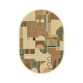 Овальный ковёр Buhara d149, 60 х 100 см, цвет beige