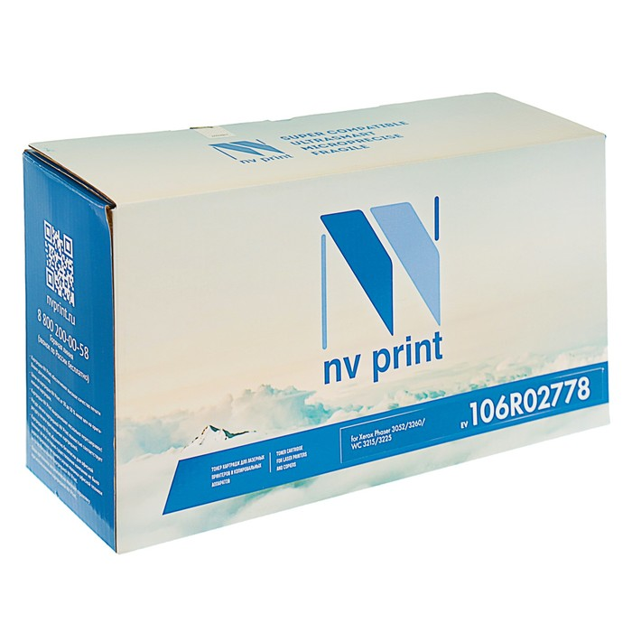 Картридж NV PRINT NV-T106R02778 для Xerox Phaser 3052/3260/WorkCentre 3215/3225 (3000k)