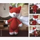 Амигуруми: Мягкая игрушка «Лисичка Дороти», набор для вязания, 10 × 4 × 14 см