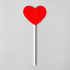 """Topper """"Red heart"""" (set of 6 PCs.)"""