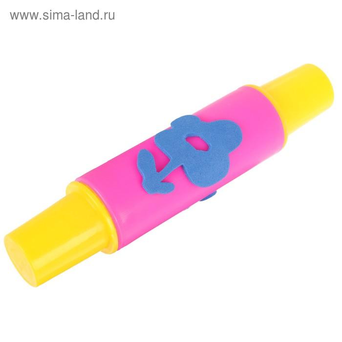 """Инструмент д/рисов.красками """"Цветочек со стебельком"""",цвета МИКС"""