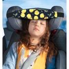 Фиксатор головы ребёнка в автокресле «Клювонос. Жёлтая черешня»