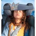 Фиксатор головы ребёнка в автокресле «Клювонос. Принцесса», цвет серебряный