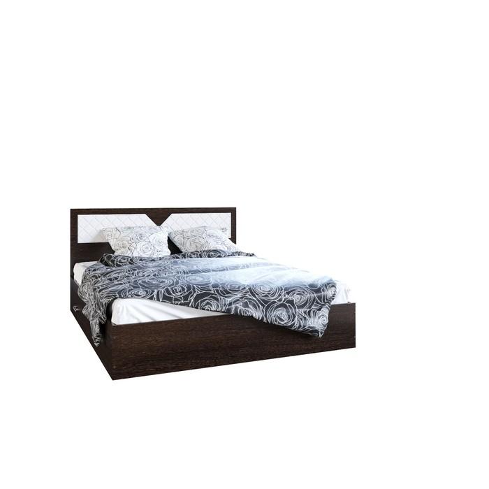 Кровать Николь, 1600х2000, Венге/Лиственница светлая