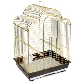Клетка Triol  N 1301G-K для птиц, золото, 52*41*71 см