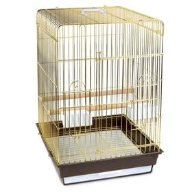Клетка Triol  N 1302 для птиц, золото, 52*41*59 см