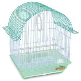 Клетка Triol  N 1600 для птиц, цинк, 34.5*26*44 см